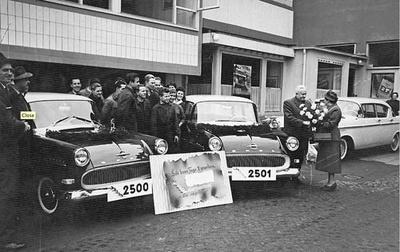 Beginn mit Opel Kapitänen